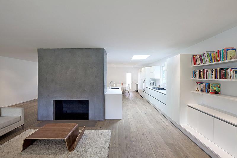 Vivienda minimalista en california por dan brunn architecture for Casas minimalistas modernas interiores