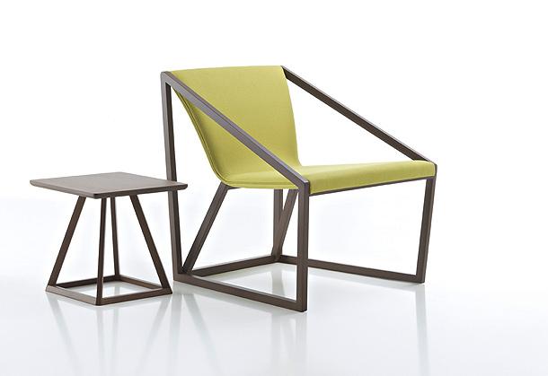 Shin azumi completa la familia kite de fornasarig con for Mobiliario de oficina minimalista