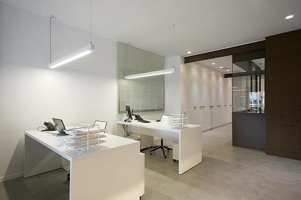 De altillo industrial a modernas oficinas un proyecto de for Oficinas modernas minimalistas