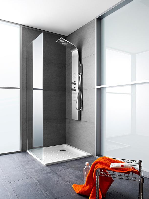 Essential la nueva columna de hidromasaje en inoxidable - Columnas de ducha ...