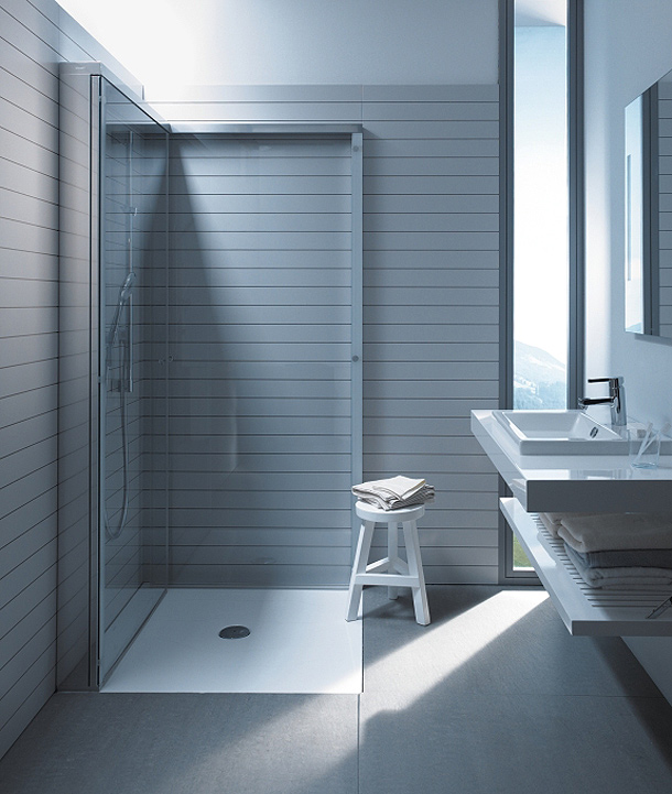 la mampara openspace de duravit y eoos gana el design award 2013. Black Bedroom Furniture Sets. Home Design Ideas