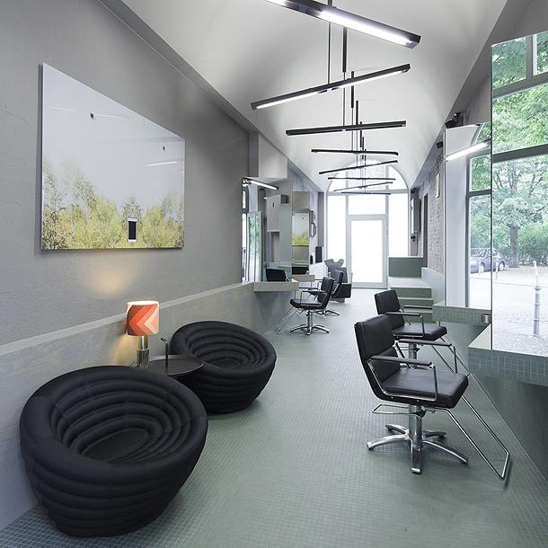 peluquer a minimalista en berl n por karhard architektur