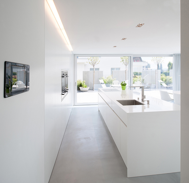 Dise o minimalista residencial por egli partner for Zapateros de diseno minimalista