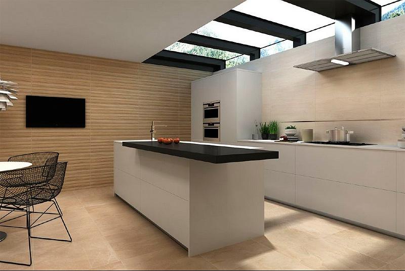 Keraben reproduce la madera natural en la serie madeira for Pavimentos para cocinas