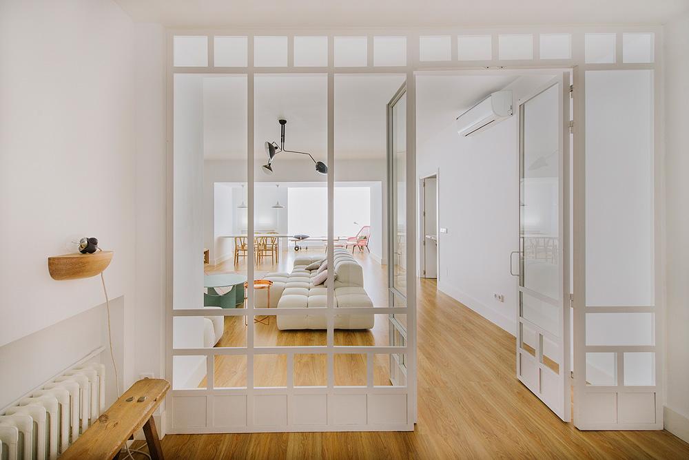 Vivienda en madrid dise ada por nim for Reformas de pisos antiguos