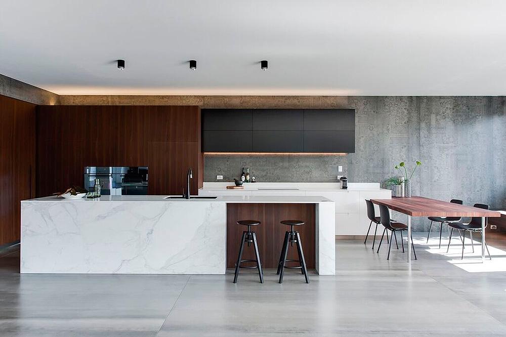 Cocina contemporánea diseñada por Minosa Design - Interiores ...