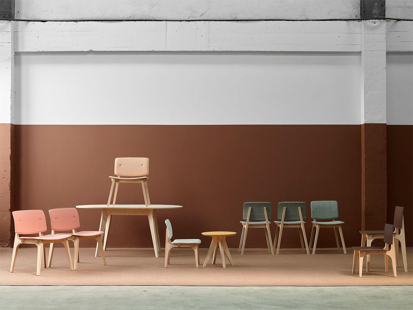 Ondarreta presenta sus nuevas sillas y mesas for Ondarreta mesas y sillas