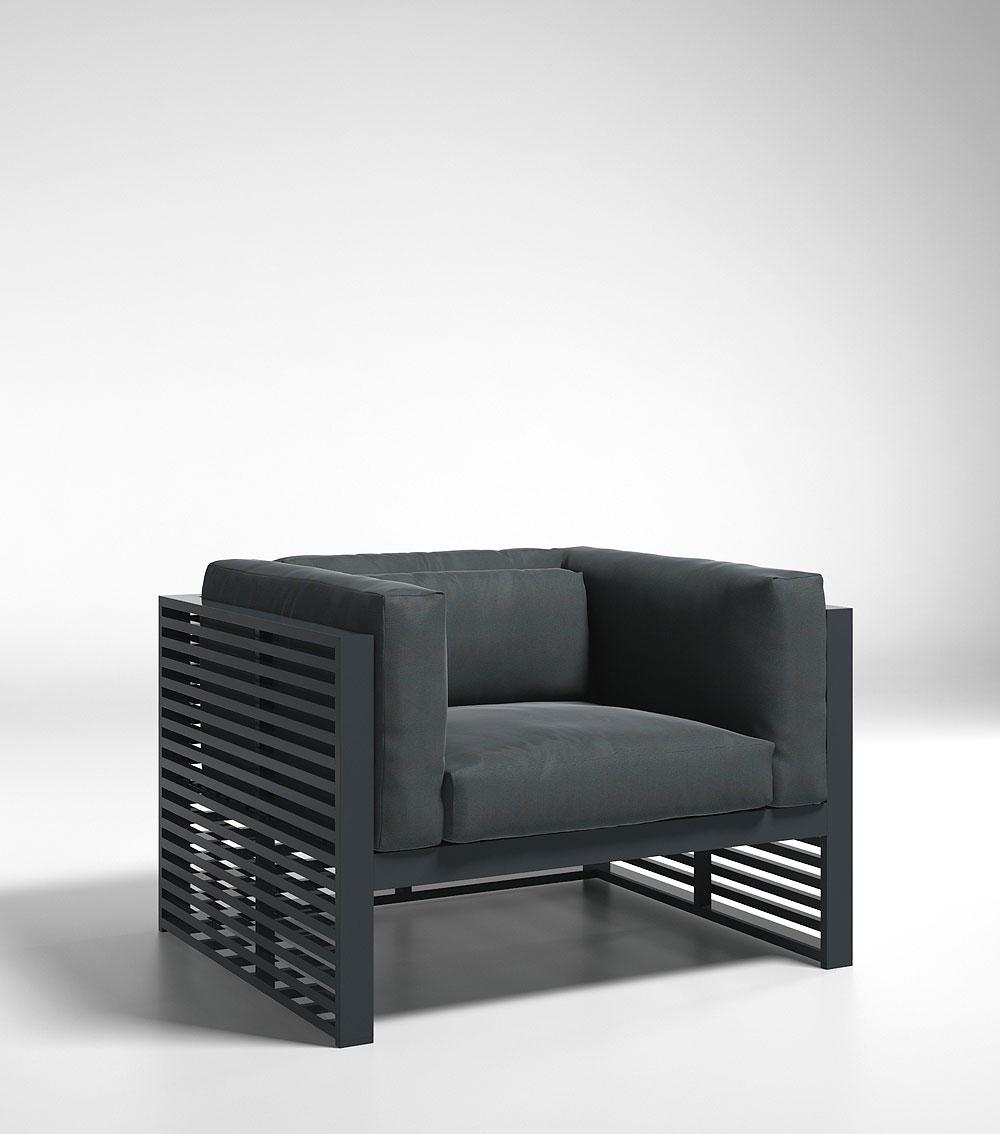 Colección de mobiliario exterior DNA de GANDIABLASCO