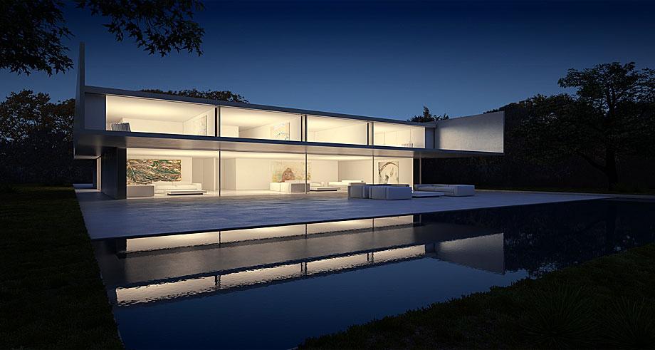 La casa de aluminio de fran silvestre arquitectos - Fran silvestre arquitectos ...