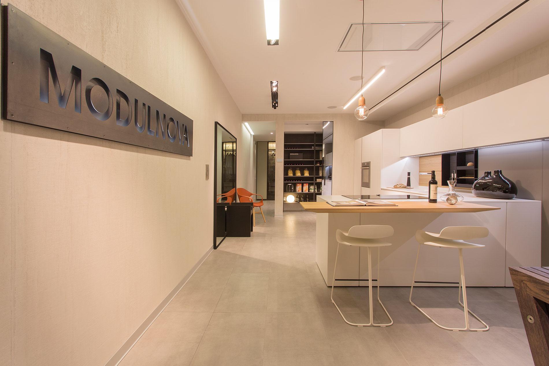 Materia nuevo showroom con primeras firmas del h bitat for Estudio interiorismo madrid