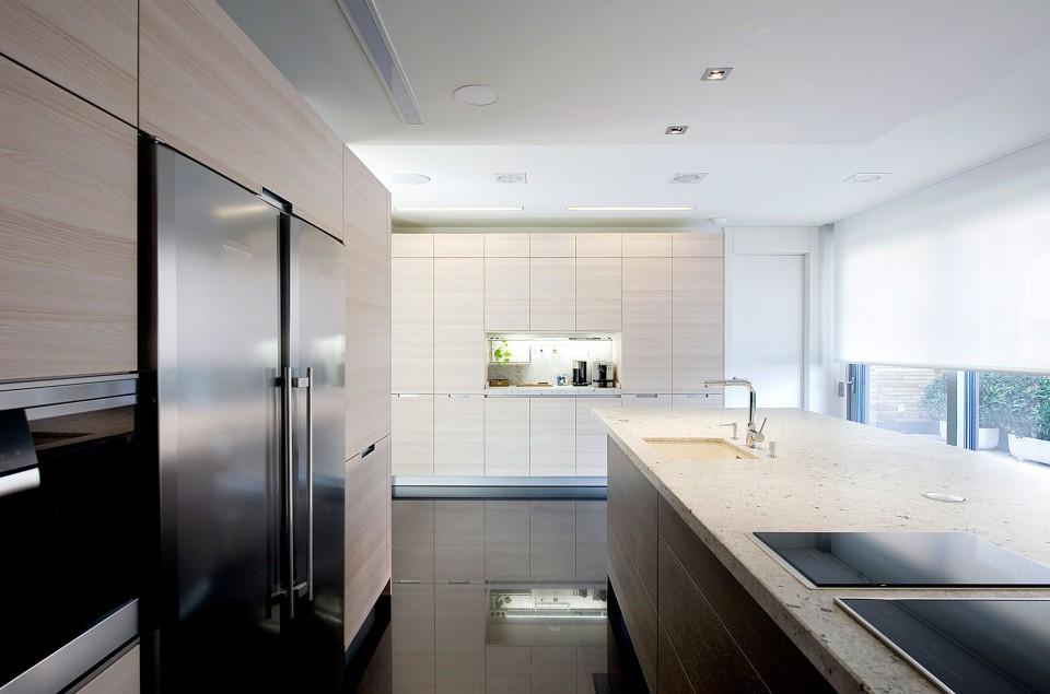 Cocinas archivos interiores minimalistas - Cocinas con peninsula ...