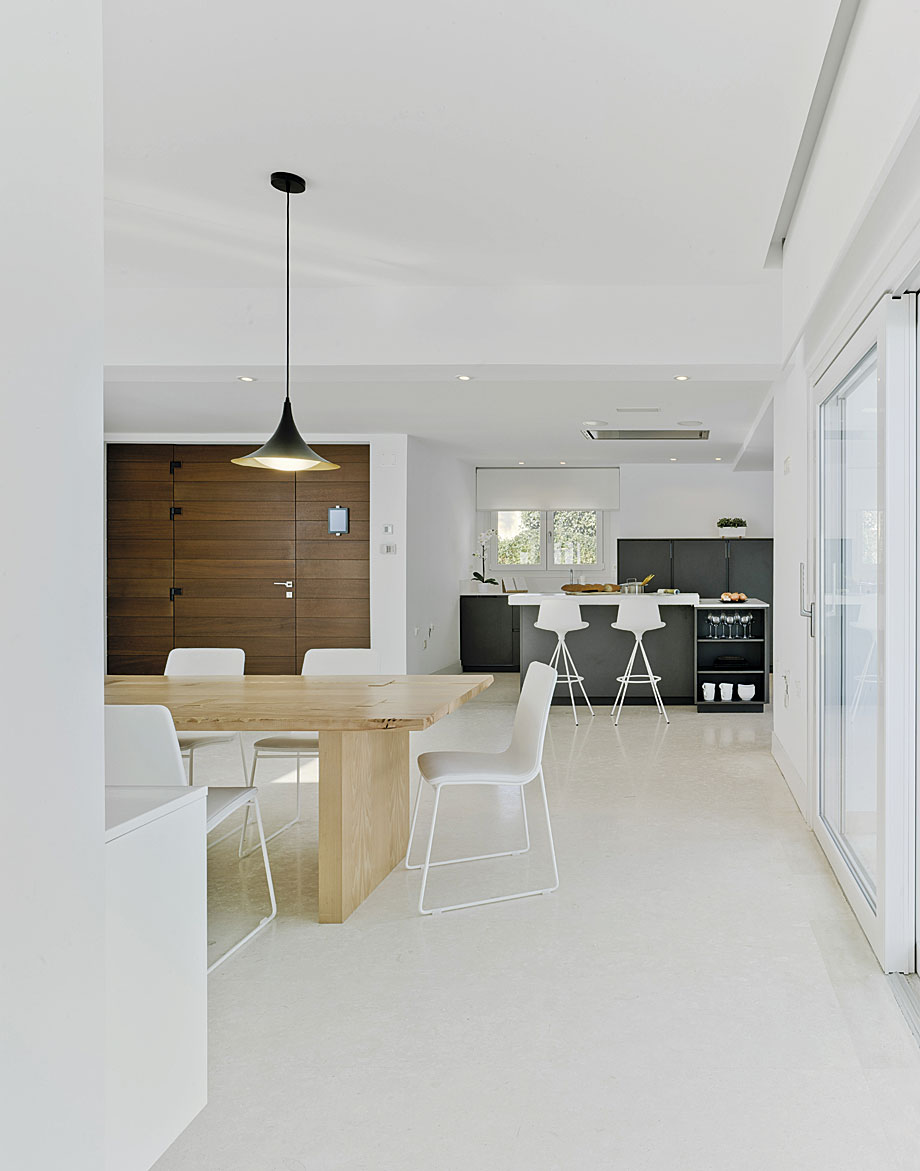 Minimalista Casa De Docrys Cocinas Dc Arquitectura Interior # Muebles Johnson Rosario