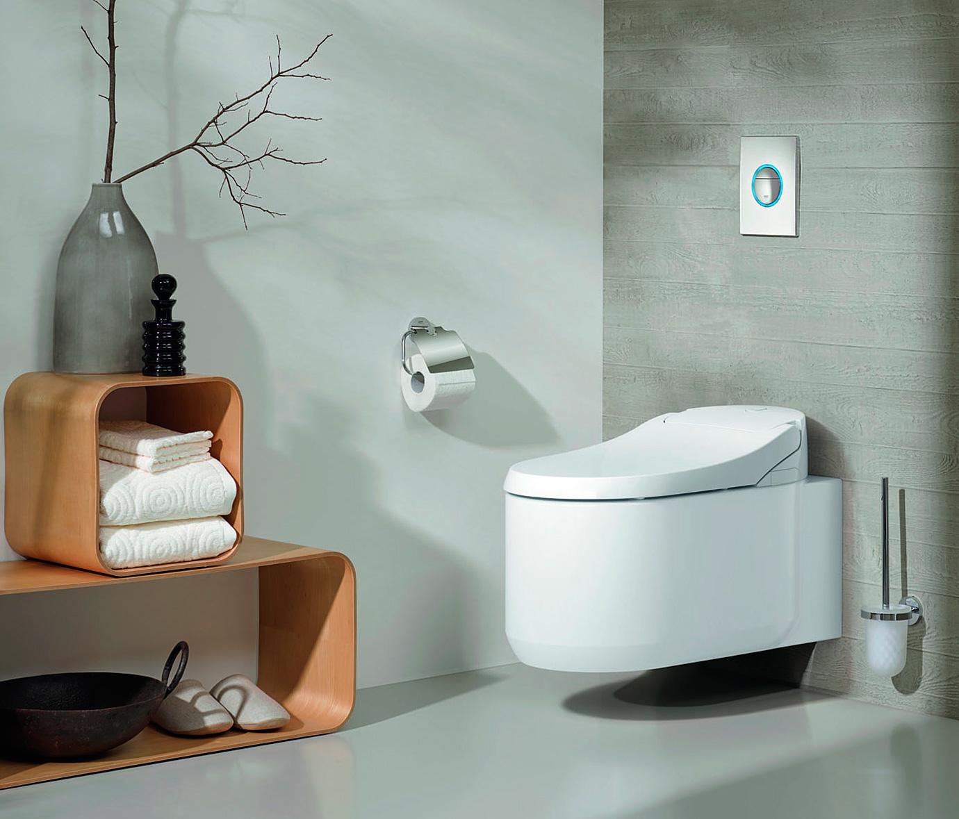 Grohe sensia arena un nuevo concepto de higiene en el ba o for Showroom grohe barcelona