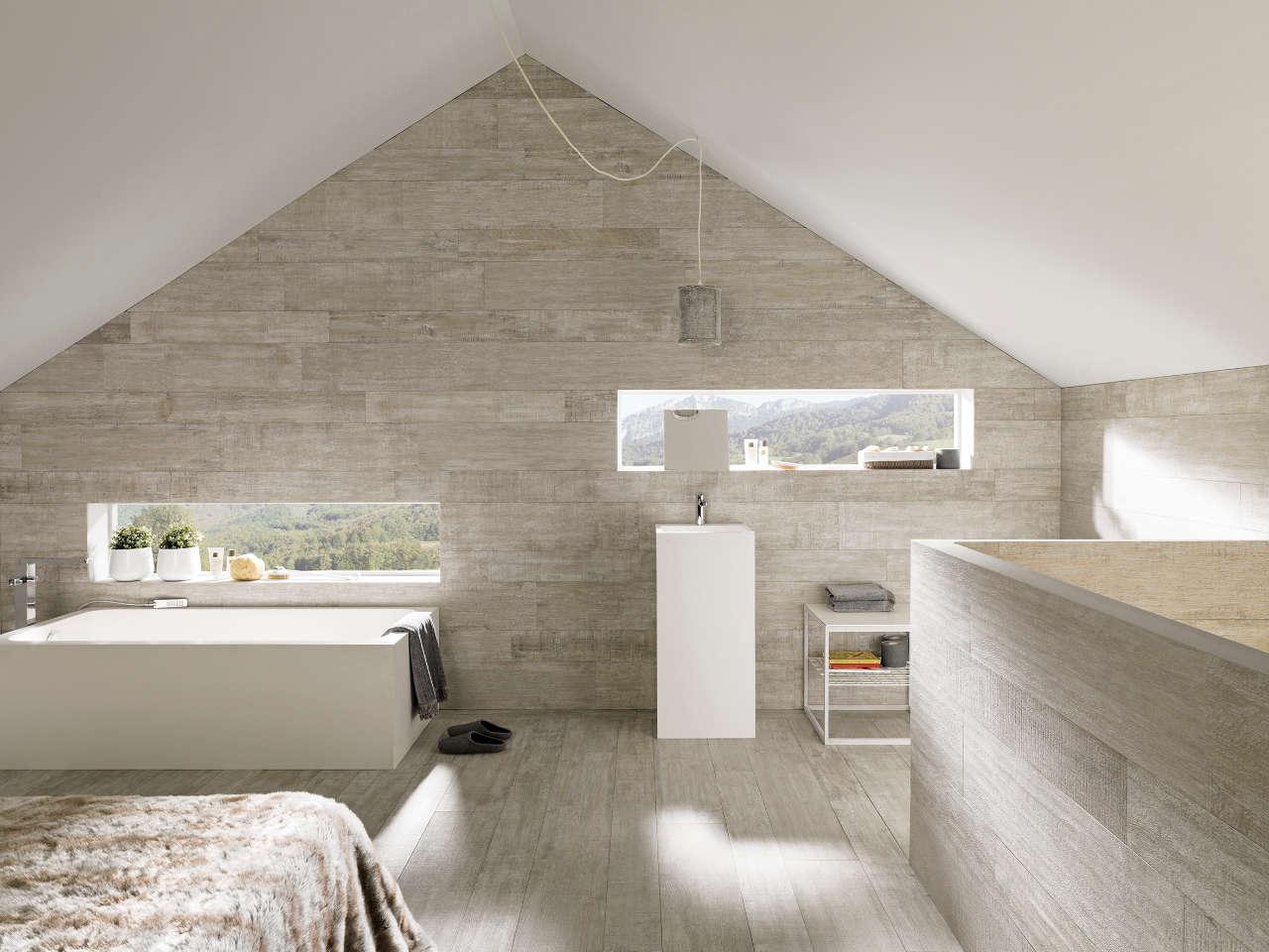 Madera cer mica par ker para espacios con personalidad - Pavimentos ceramicos interiores ...