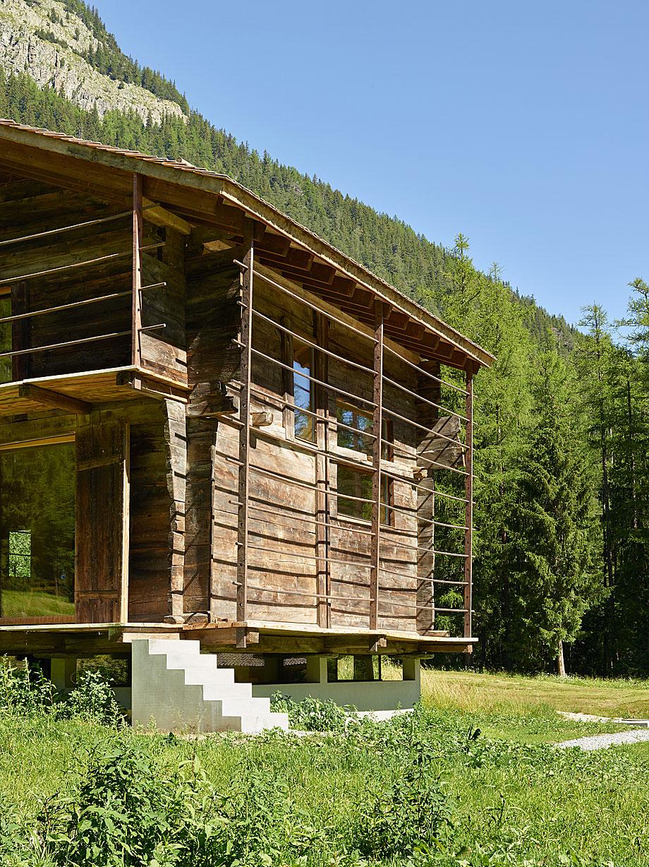 reforma de una casa en la montaña savioz fabrizzi (7)
