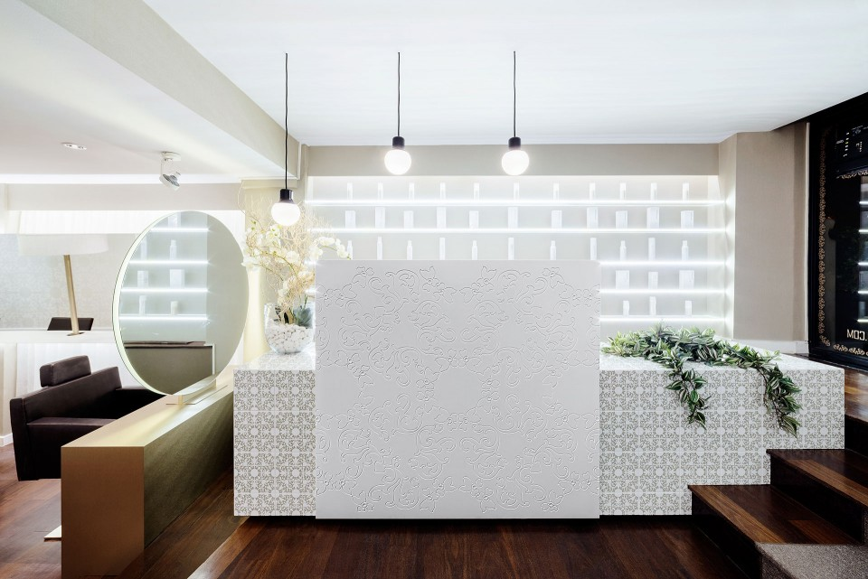 Peluquer as centros de est tica archivos interiores minimalistas Diseno de peluquerias