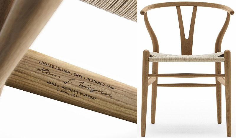 edicion limitada de la silla wishbone chair de carl hansen & son (4)