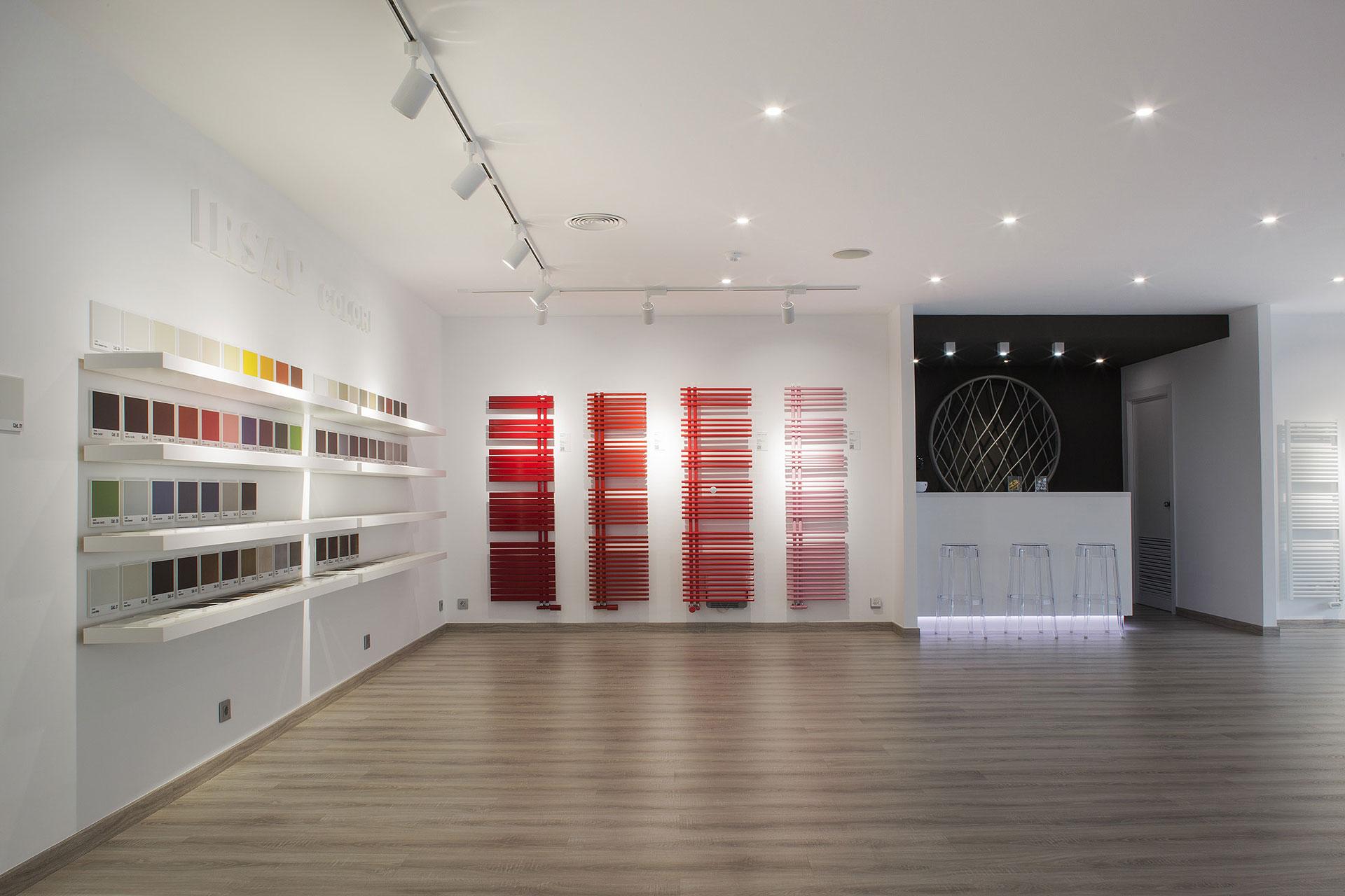 Nuevo showroom de irsap en su sede de gav barcelona - De sede showroom ...