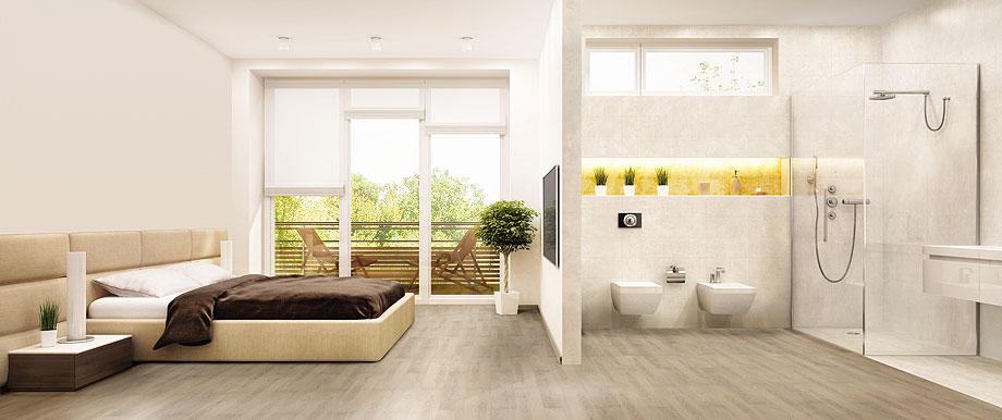 Suelos de ducha duchas modernas plato al ras del suelo - Suelos de ducha ...