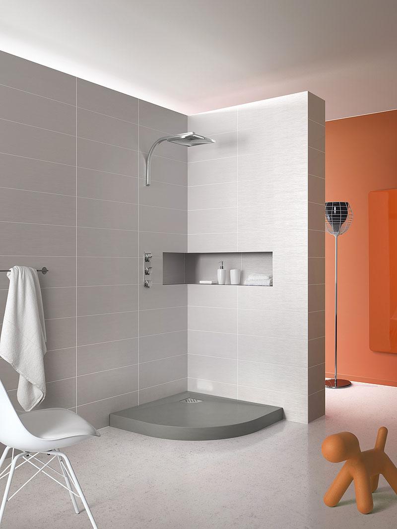 Modernos platos de ducha de grandform - Medidas de los platos de ducha ...