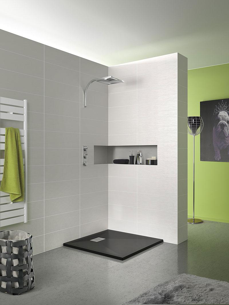 Modernos platos de ducha de grandform - Plato de ducha negro ...