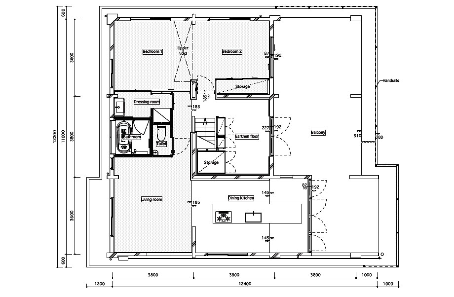 casa en sangenjaya de schemata architects (15)