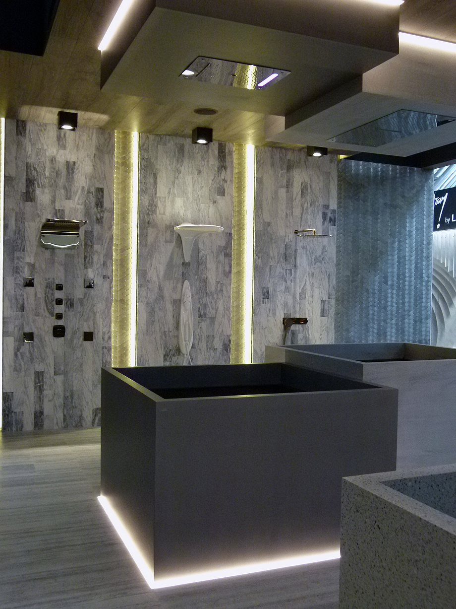 Porcelanosa Grupo en Cersaie 2017 Espacio Premium Collection (1)
