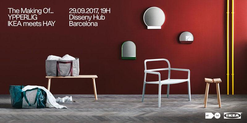 Le Ikea Blume descubre el proceso de creación de la nueva colección ypperlig de