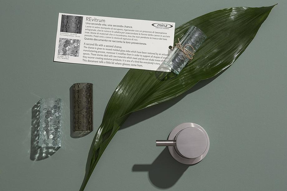 griferia revitrum de inoxidable y cristal reciclado de mina (5)