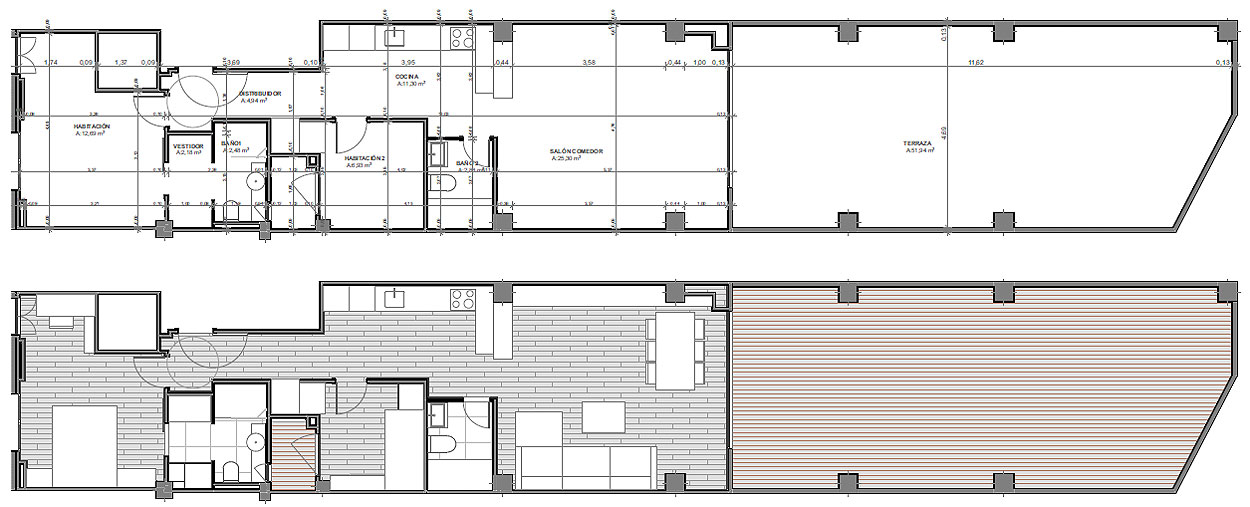 reforma en valencia por ambau taller d'arquitectes (15)