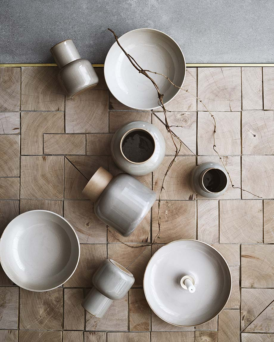 CECILIE MANZ - EARTHENWARE - FRITZ HANSEN - PHOTO CREDITS: FRITZ