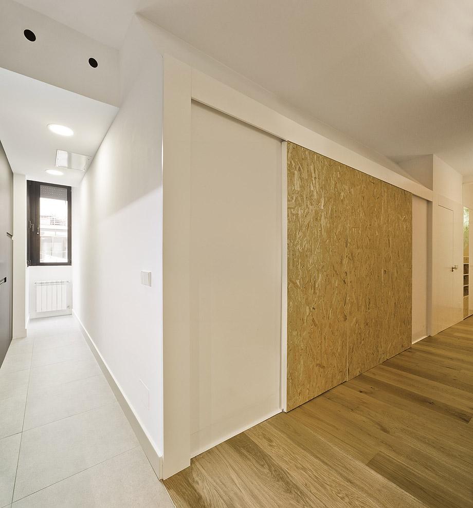 Reforma de un piso en Madrid.