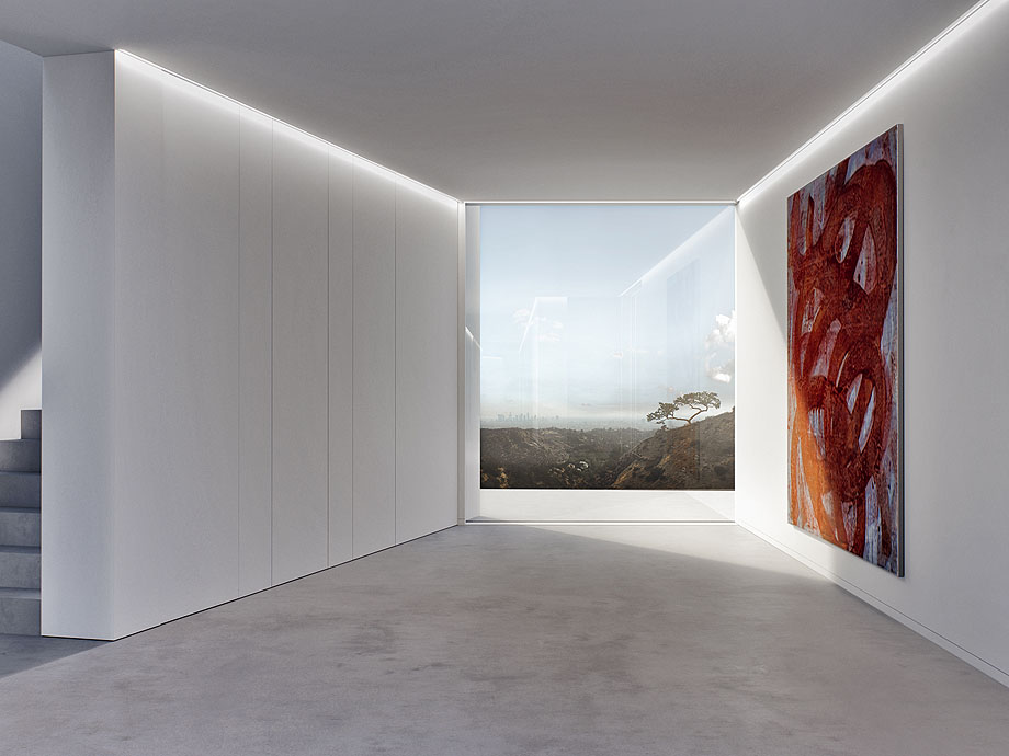 residencia en las colinas de Hollywood de m3 architects (1)