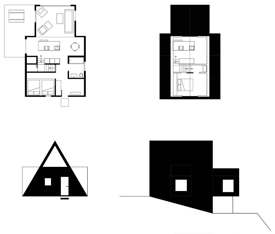 reforma de una casa en la montaña por jean verville (28)