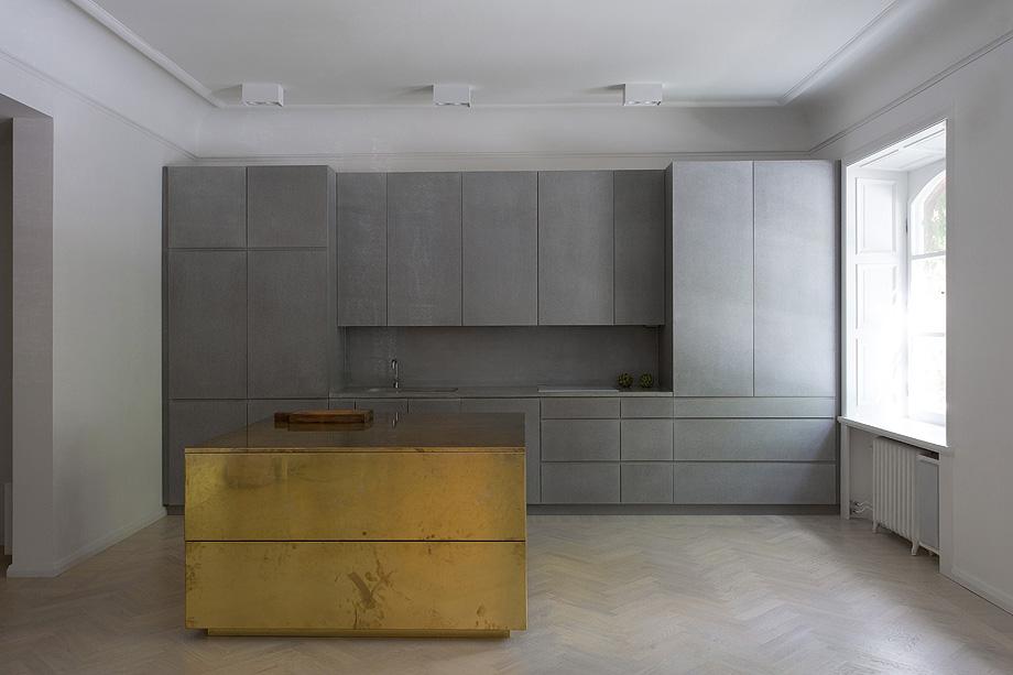 apartamento en gris y oro de richard lindvall (2)