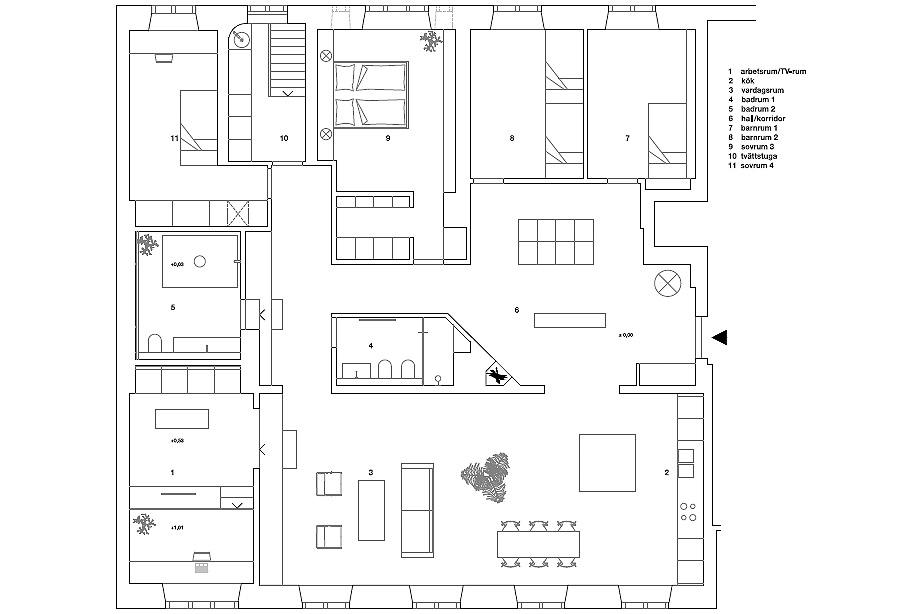 apartamento en gris y oro de richard lindvall (20)