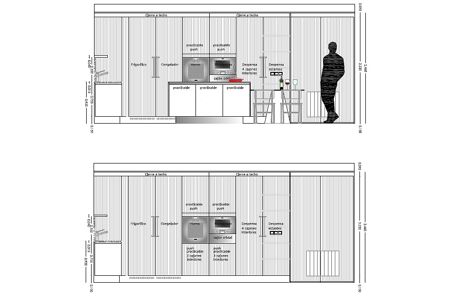 reforma cocina dosarquitectes y arclinea barcelona (18B)