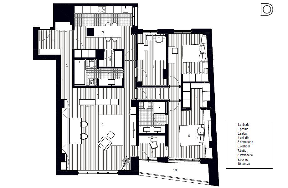 piso en aviles de david olmos foto luis diaz diaz plano (18)
