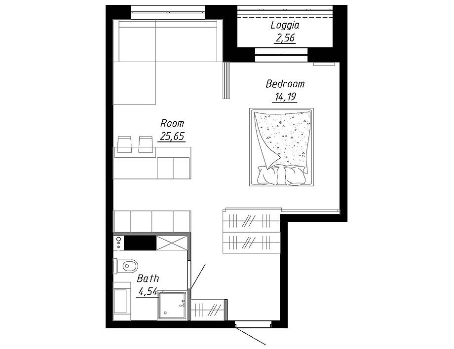 apartamento en moscu de flow project - foto flow project (10)