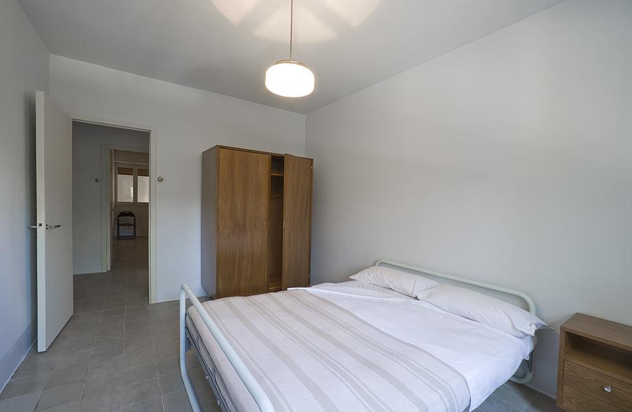 dormitorio piso museo casa bloc - foto lourdes jansana