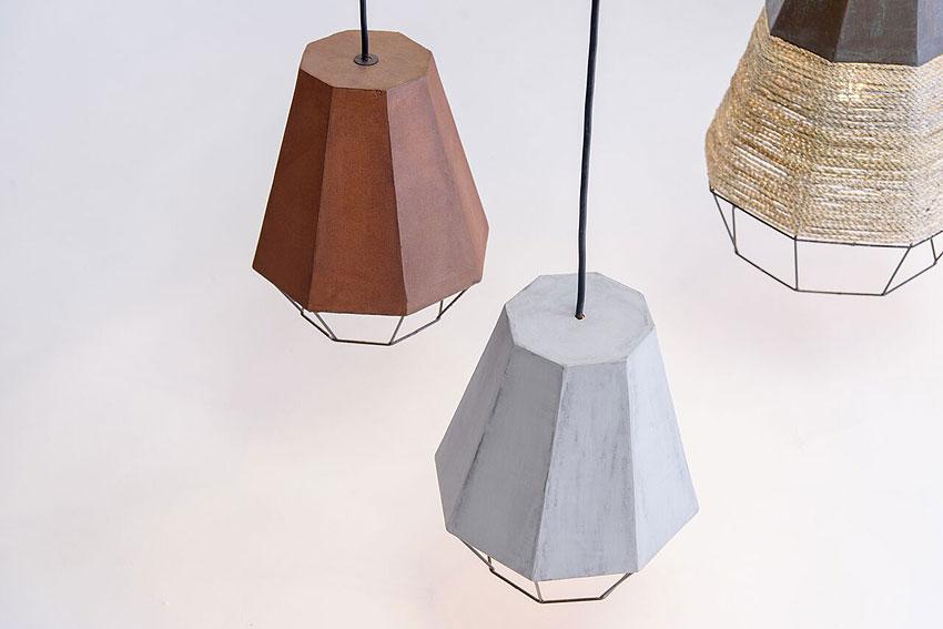 lamparas geometrica de michelle urtecho y cement design (3)