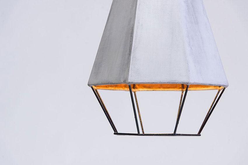 lamparas geometrica de michelle urtecho y cement design (5)