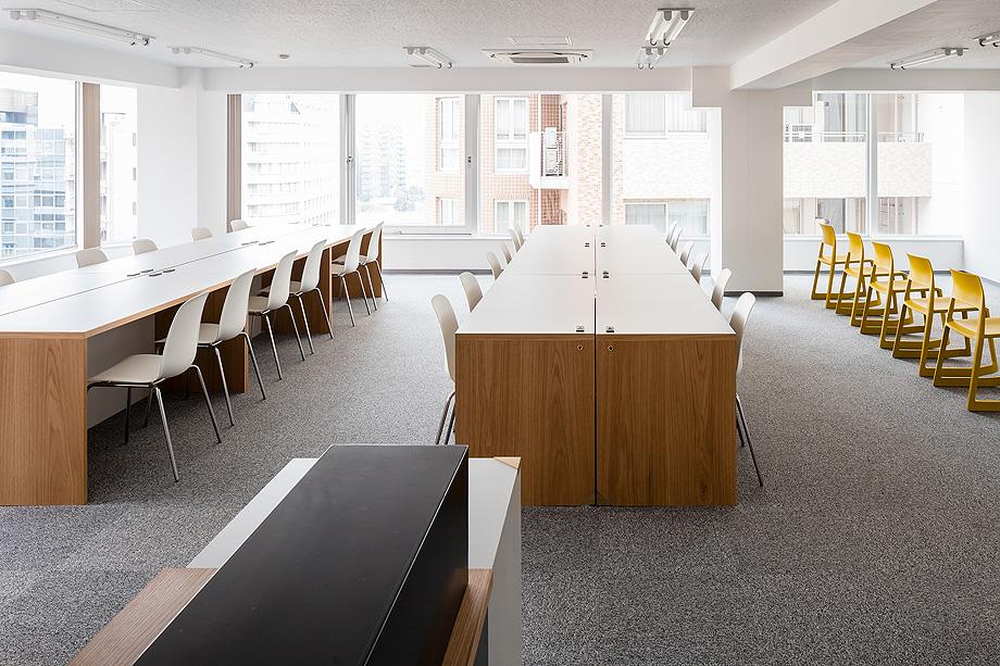 oficina y espacio de estudio de shimpei oda - foto norihito yamauchi (14)