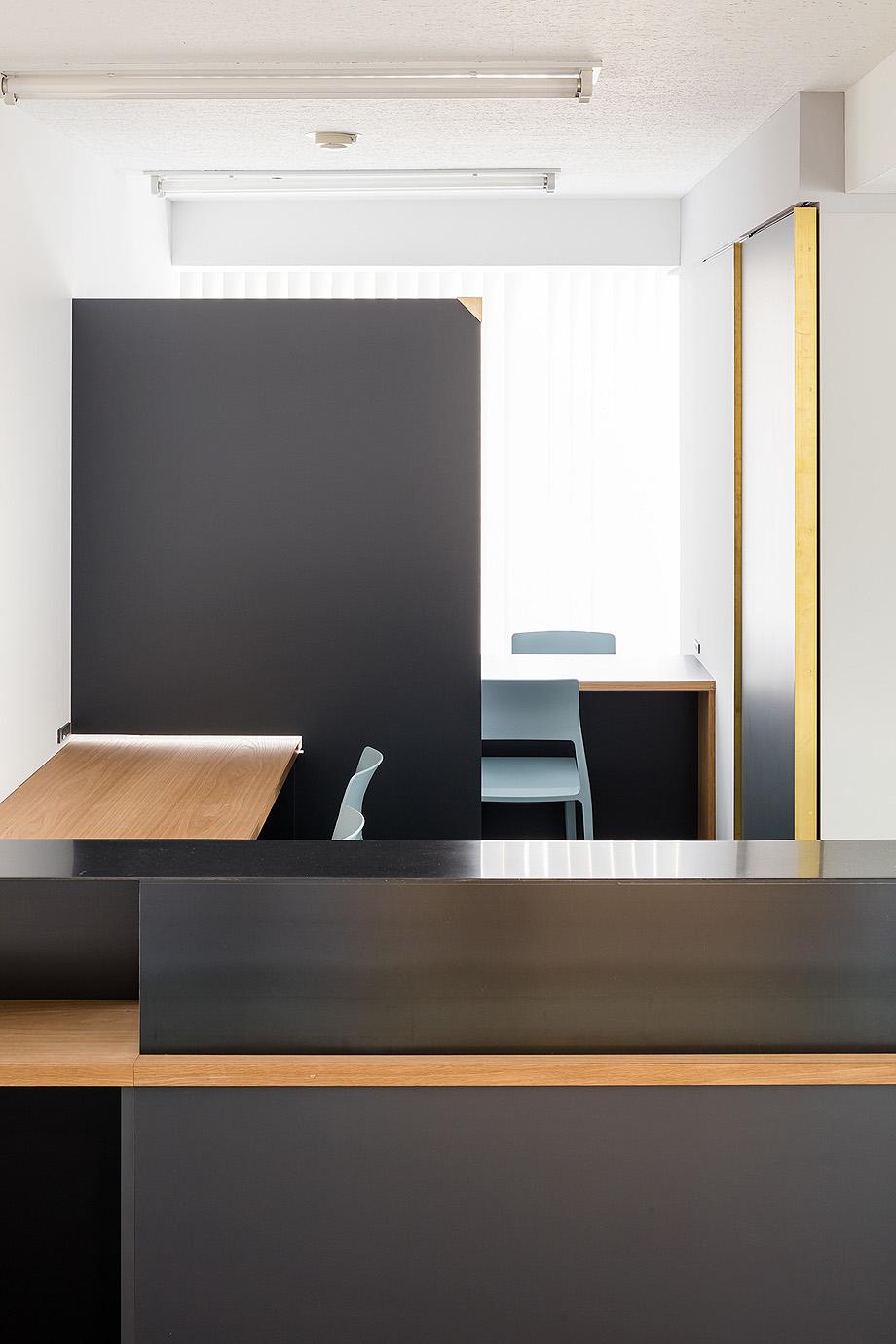 oficina y espacio de estudio de shimpei oda - foto norihito yamauchi (2)