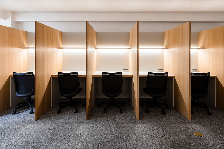 oficina y espacio de estudio de shimpei oda - foto norihito yamauchi (23)