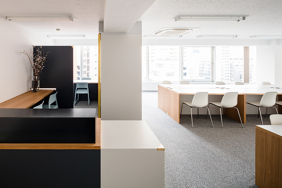 oficina y espacio de estudio de shimpei oda - foto norihito yamauchi (3)