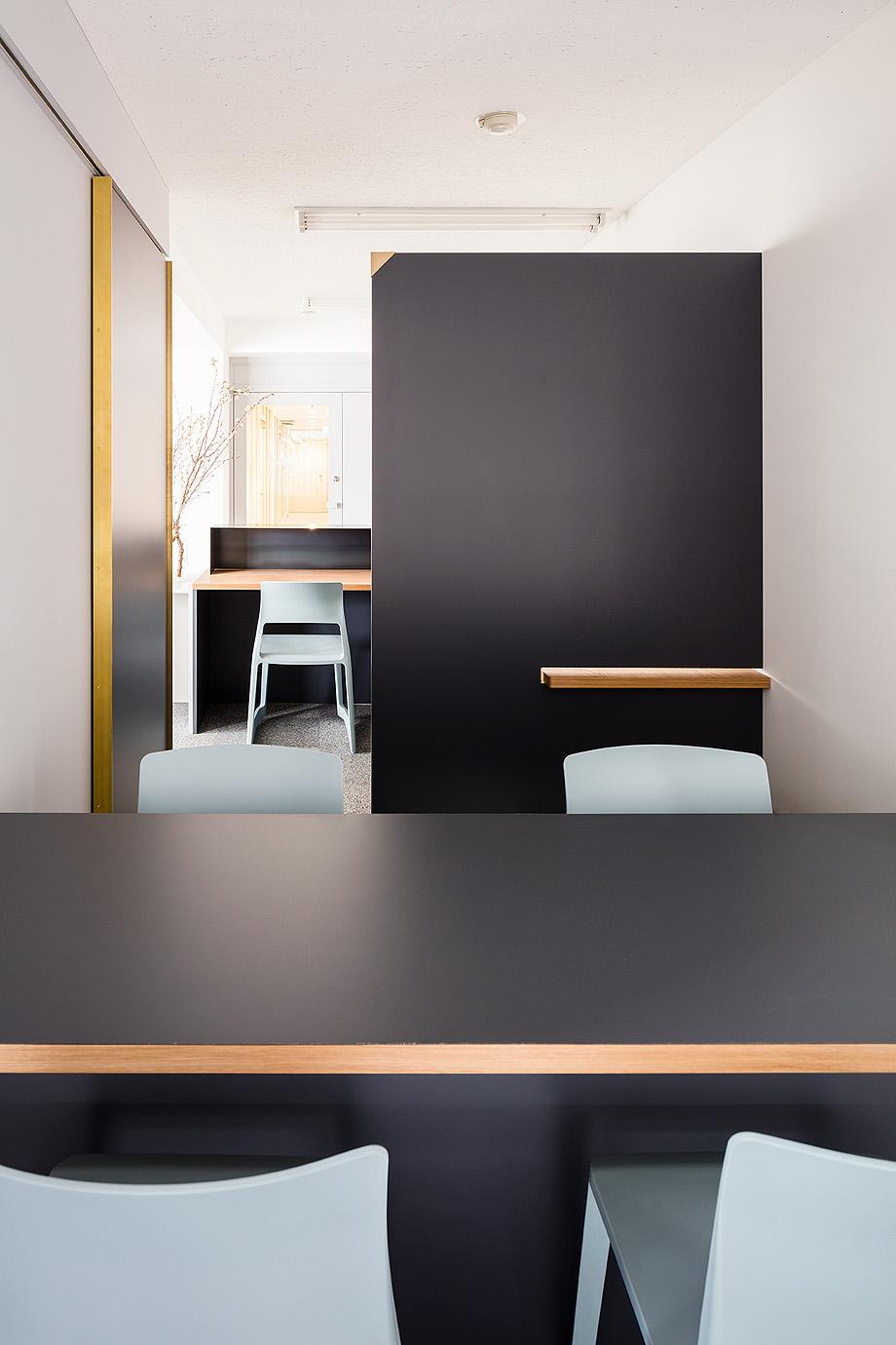 oficina y espacio de estudio de shimpei oda - foto norihito yamauchi (6)