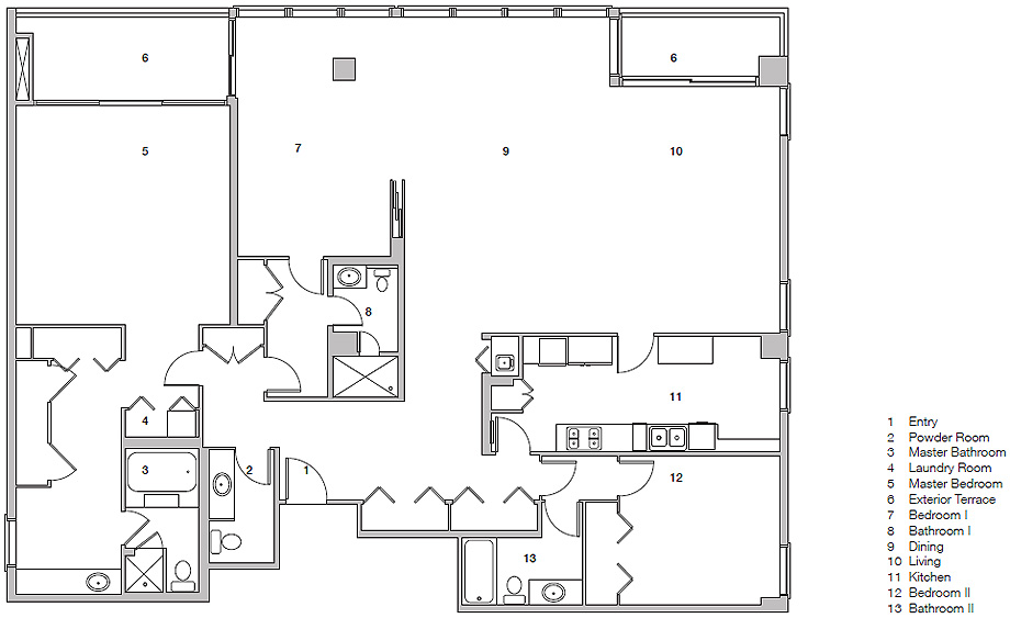 residencia privada 4 de garcia tamjidi - plano (1)