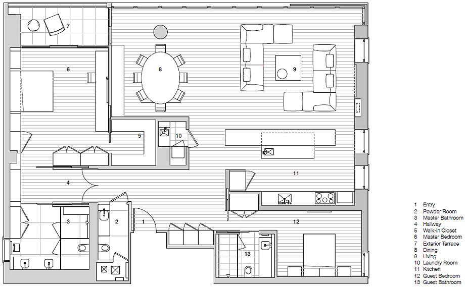 residencia privada 4 de garcia tamjidi - plano (2)