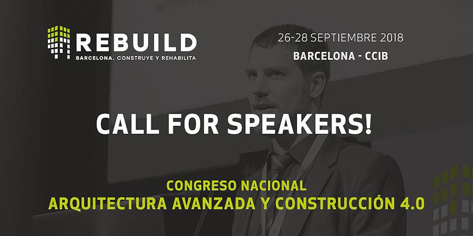 call for speakers congreso arquitectura rebuild 2018 (1)